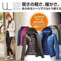 Áo phao lông vũ Uniqlo siêu nhẹ