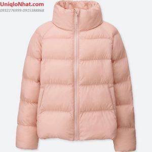 Áo phao Uniqlo bé gái mầu hồng