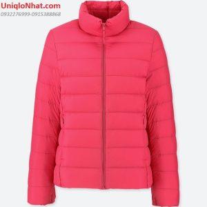 Áo lông vũ Uniqlo 2019 nữ hồng phấn