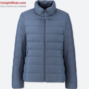 Áo lông vũ Uniqlo 2019 nữ xanh dương