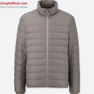 Áo lông vũ nam Uniqlo 2019 xám đậm