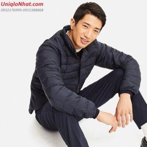 Áo lông vũ nam Uniqlo 2019 xanh đen