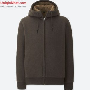 Áo nỉ lót lông Uniqlo nam 2019 mầu
