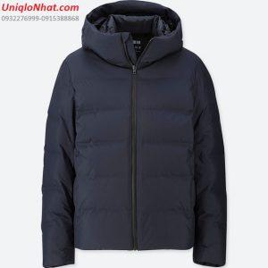 Áo phao lông vũ Uniqlo siêu ấm 2019 đen navy