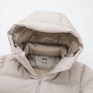 Áo phao lông vũ Uniqlo siêu ấm 2019 mũ