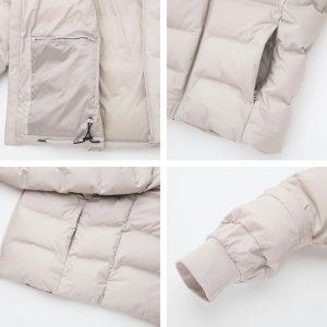 Áo phao lông vũ Uniqlo siêu ấm 2019 thiết kế