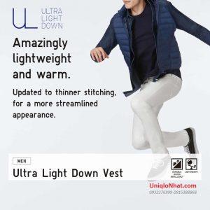 Áo lông vũ gile nam Uniqlo 2020