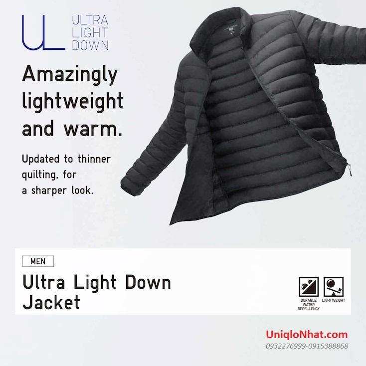 Áo phao lông vũ Uniqlo 2020