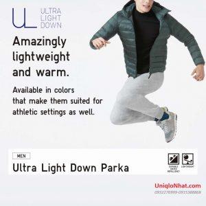 Áo lông vũ nam Uniqlo