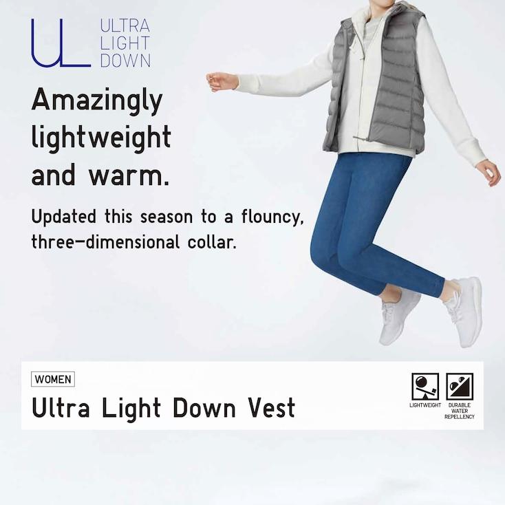 Áo gile lông vũ Uniqlo 2020