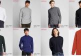 Áo nỉ nam Uniqlo 2020 cổ lọ siêu ấm thời trang Nhật Bản