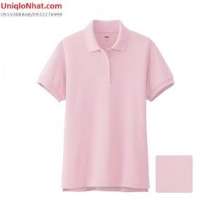 UniqloNhat - Ao phong Polo nu mau hong 10 pink_134868