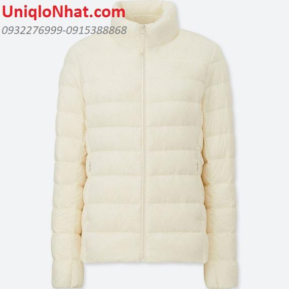Áo lông vũ Uniqlo nữ trắng