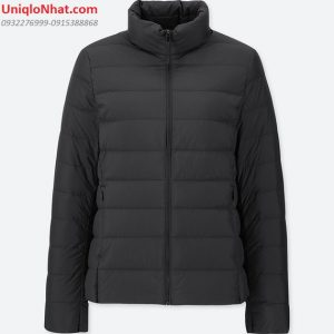 Áo lông vũ Uniqlo 2019 nữ đen