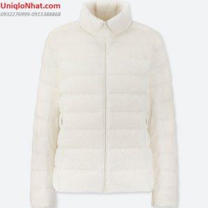 Áo lông vũ Uniqlo 2019 nữ trắng sữa